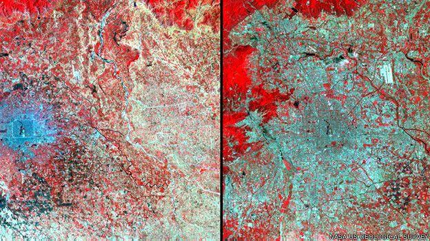 Crecimiento urbano en Pekín