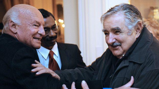 Eduardo Galeano y José Mujica