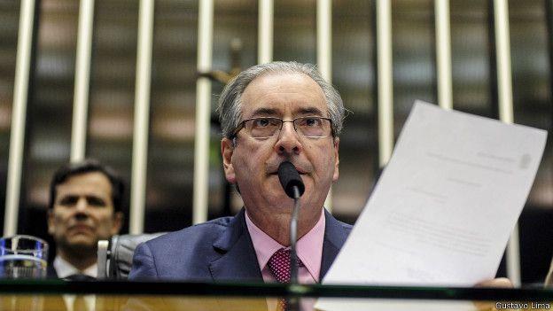 Presidente de la cámara brasileña de Diputados, Eduardo Cunha