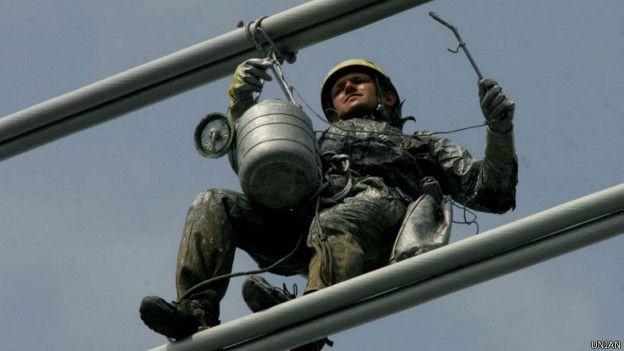 Воры могут маскироваться под промышленных альпинистов, говорят в милиции