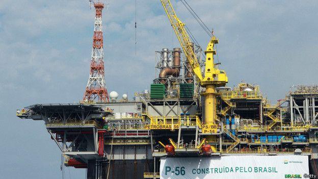 Plataforma petrolera Petrobras