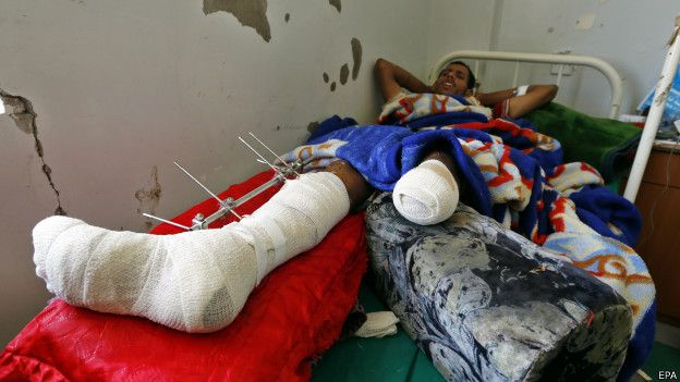 Раненый в больнице