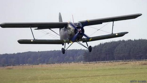 Avión biplano soviético An-2, diseñado por Antonov