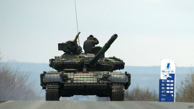 Бои на Донбассе разгорелись с новой силой