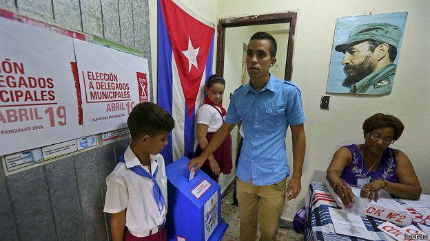 Yuniel López, miembro del prohibido Partido Democrático de Cuba.