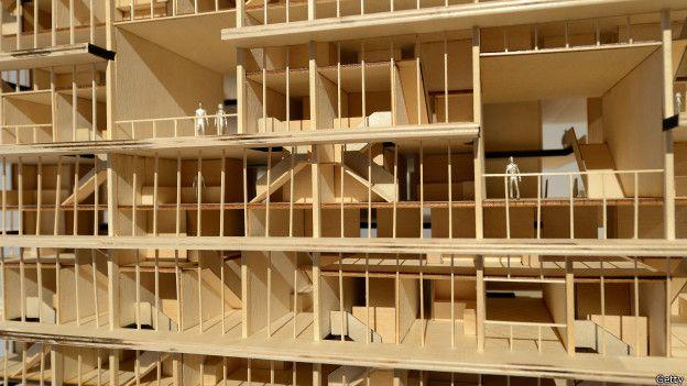 Modelo de desarrollo de micro-apartamentos, presentado en Nueva York