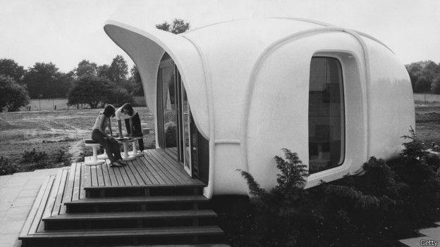 Casa diseñada por arquitectos franceses en los años 70