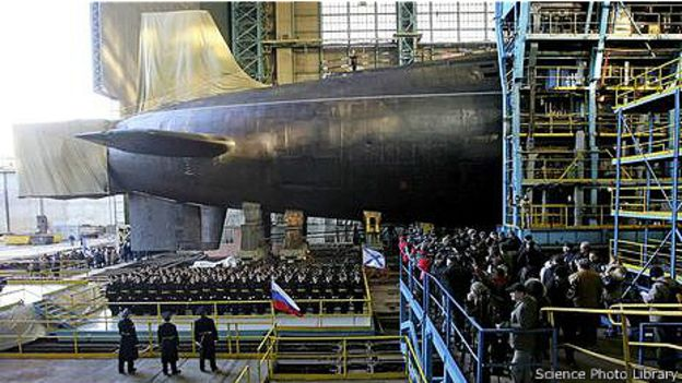Ввод в строй новой российской субмарины