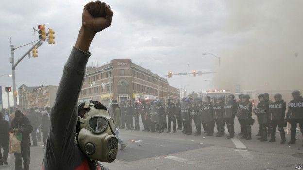 Протест у Балтиморі