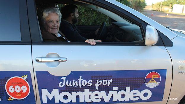 Senadora uruguaya y candidata a intendenta de Montevideo, Lucía Topolansky.