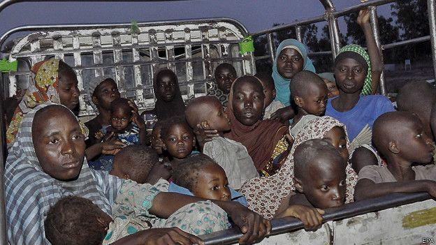 nigeria, mujeres, niñas, boko haram, secuestradas