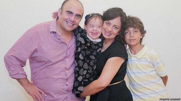 Nadja Quadros e sua família | Foto: Arquivo pessoal