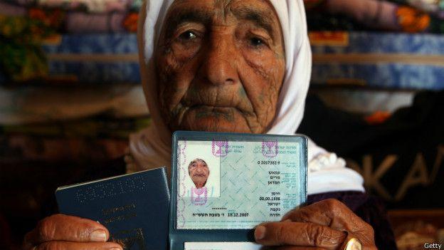 Mariam Amash, nacida en 1888, en una foto en 2008