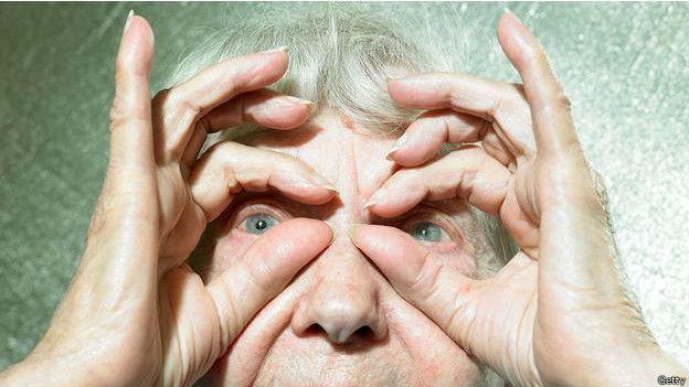 Una persona anciana