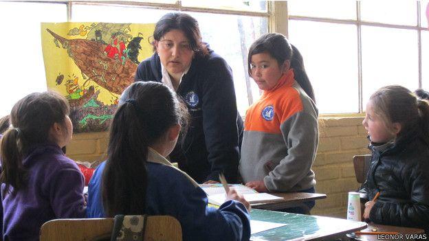 Escuela en Chile que participó en el proyecto de cooperación con Finlandia