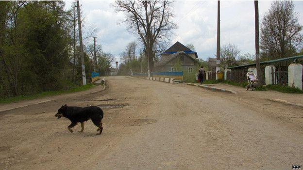 Борыня - поселок Турковского района Львовской области, в нескольких километрах от границы с Польшей