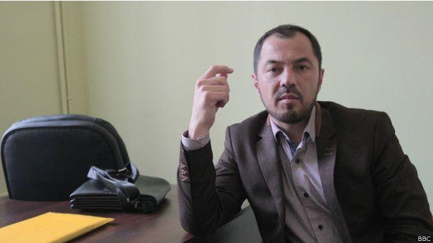 Эрнест Абкелямов переехал во Львов год назад, сразу после аннексии Крыма