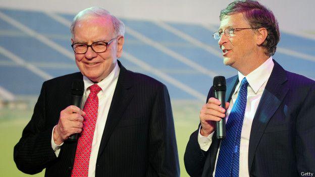 Warren Buffet y Bill Gates
