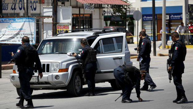 Violencia en Ciudad Juárez, Chihuahua.