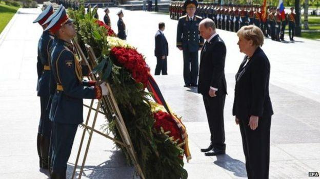 Меркель в москве