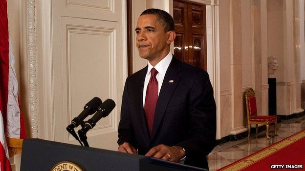 Presidente estadounidense, Barack Obama.