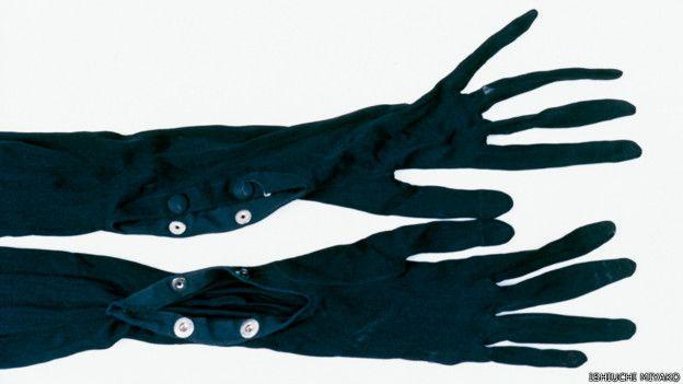 Frida por Ishiuchi #86, 2012-2015 - guantes negros