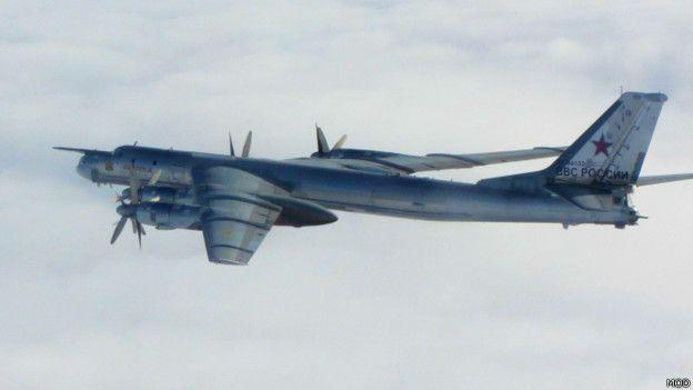 Российский бомбардировщик ТУ-95