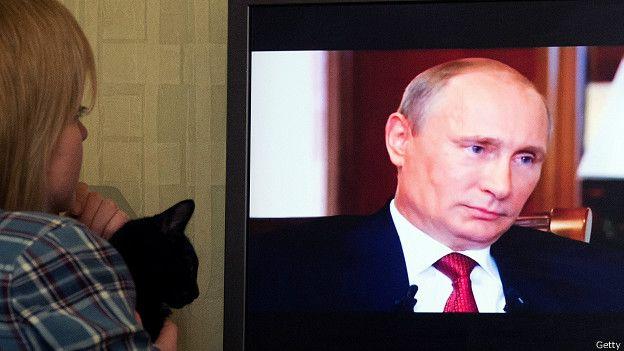 Путипн в документальном фильме об аннексии Крыма