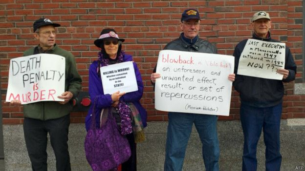 Акция протеста против смертного приговора Царнаеву