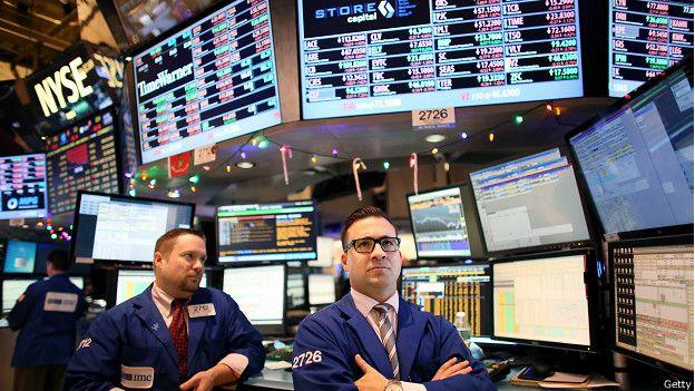 Брокеры на Нью-Йоркской фондовой бирже