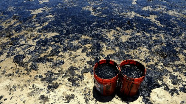Нефть на песке