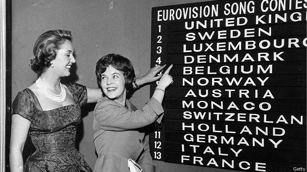 """Конкурс """"Евровидение"""" в 1960 г."""