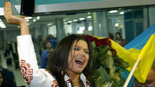 Украинка Руслана, победившая в 2004 г.