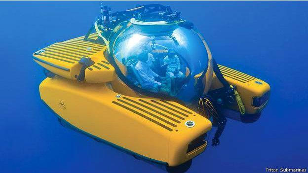 Un submarino Tritón 3300/3
