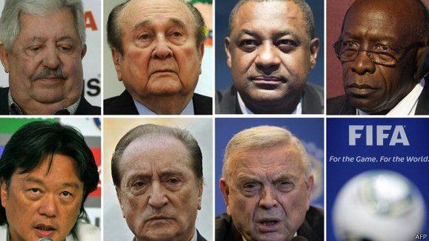 Detenidos FIFA
