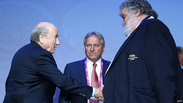 Chuck Blazer y Blatter