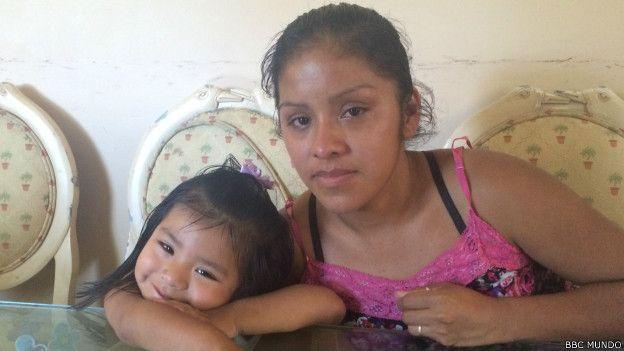 Mauda Lopez y su hija Melisa