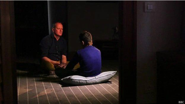 Ahmed entrevistado por Quentin Sommerville