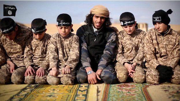 Menores vinculados al Estado Islámico