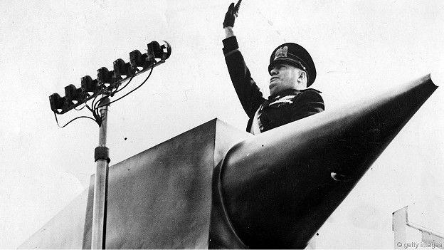 Итальянский диктатор Муссолини