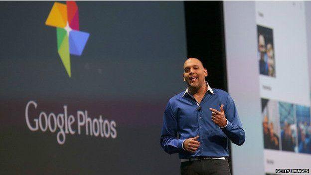 Presnetación de Google Photos durante la conferencia I/O de Google 2015