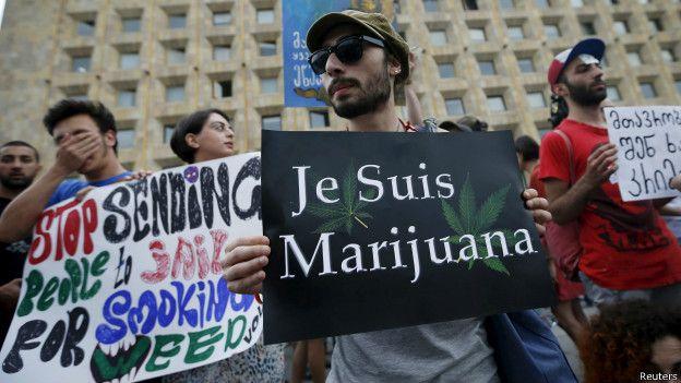 Демонстрация за легализацию марихуаны
