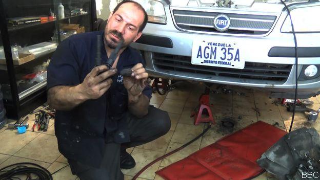 Mecánico emn Venezuela