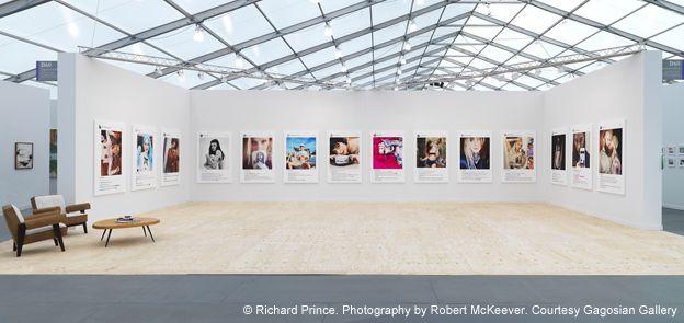 Exposición de Richard Price en Frieze, Nueva York, 2015