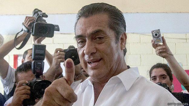 """Jaime Rodríguez Calderón alias """"El Bronco"""""""