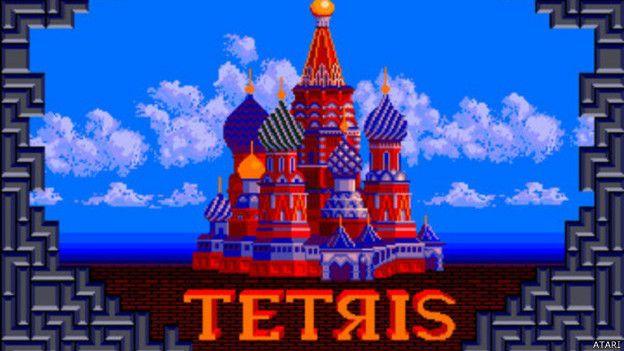 El tetris fue un juego inventado en la Unión Soviética y que se popularizó en todo el mundo.