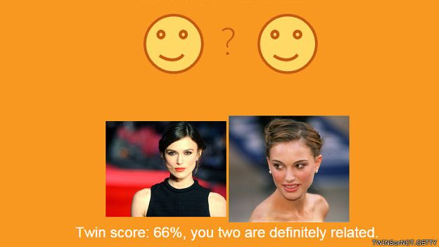 Muchos piensan que las actrices Natalie Portman y Keira Knightley se parecen. Aciertan, según la página web.