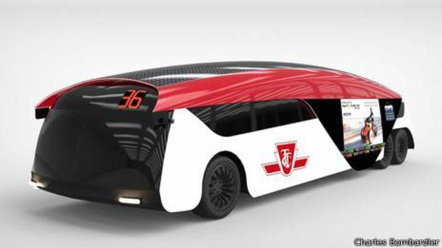 Será este o ônibus do futuro?