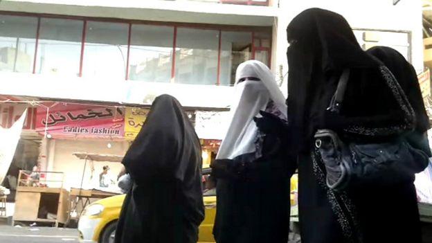 Женщины в Мосуле