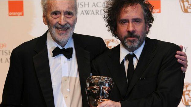 Nombrado caballero en 2009, Sir Christopher recibió el premio BAFTA en 2011. Él recibió el premio de Tim Burton, con quien hizo cuatro películas: Sleepy Hollow, Charlie y la fábrica de chocolate, Sweeney Todd y Dark Shadows.